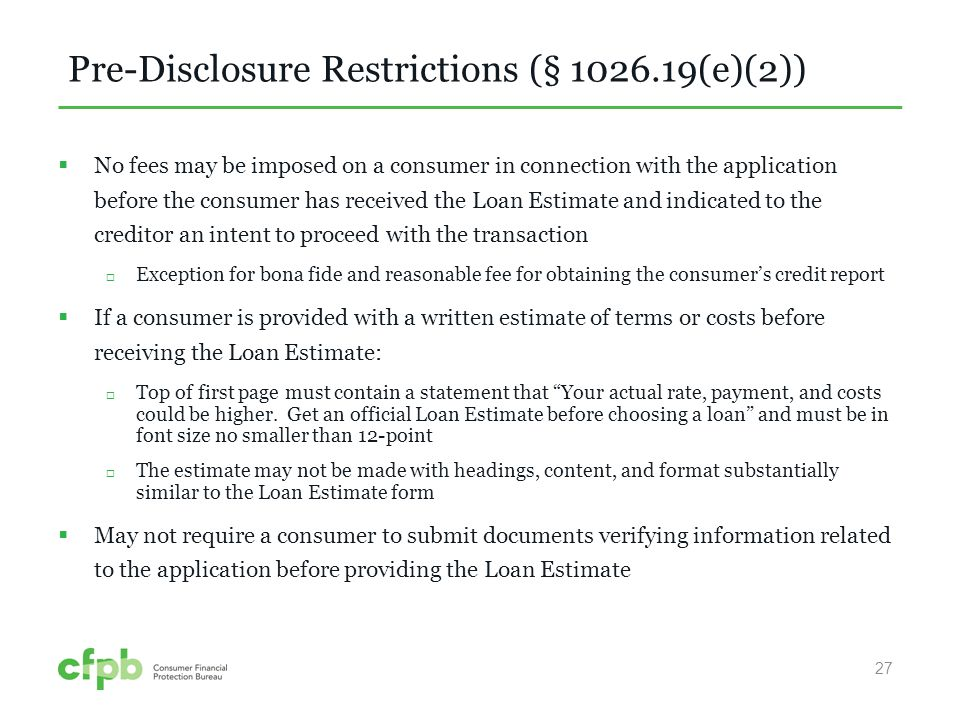TilaRespa Integrated Disclosures  Ppt Video Online Download