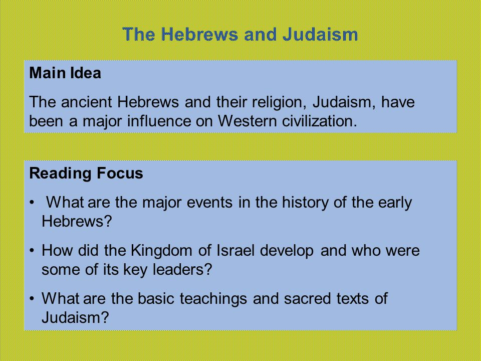 What Are the Sacred Writings of Judaism?