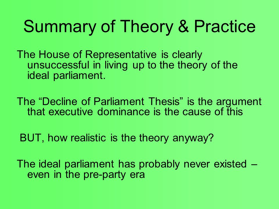 what is the decline of party thesis The historians and the decline of the liberal party - volume 22 issue 1 - j a thompson  for a recent consideration of the dangerfield thesis,.