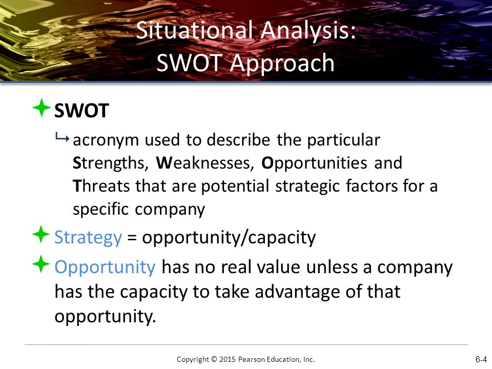 list the seven primary criticisms of swot analysis There is no logical link to strategy some primary criticisms of swot analysis: it generates lengthy lists the same factor can be placed in two categories (e.