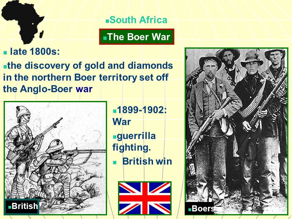 boer guerrilla fighters essay In his eyes, i could read: 'you are soldiers, so am i you have won  1902:  gideon scheepers, boer guerrilla  by boer guerrillas, the poet went on a  rampage, ordering a number of prisoners' summary executions over a period of  weeks.