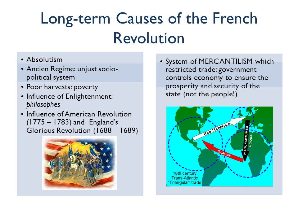 economic factors caused the american revolution The causes of the american revolution most immediately, the american revolution resulted directly from attempts to reform the british empire after the seven years' war the seven years' war culminated nearly a half-century of war between europe's imperial powers.