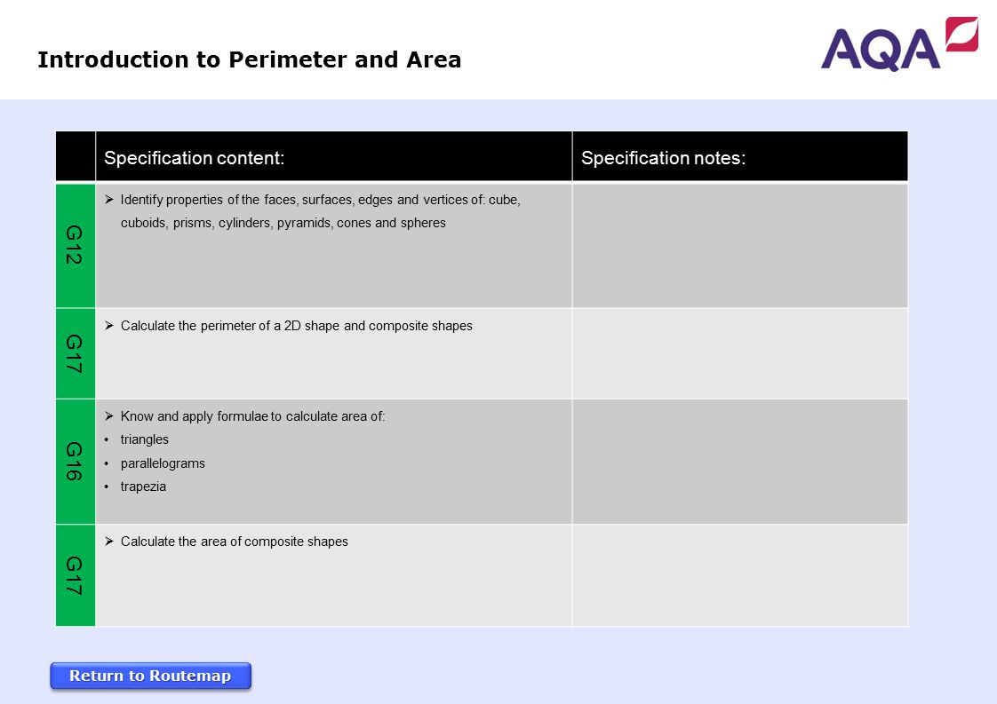 How To Find Introduction To Perimeter And Area