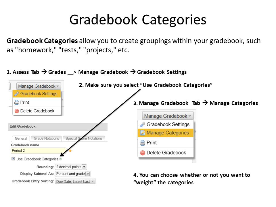 how to make a gradebook
