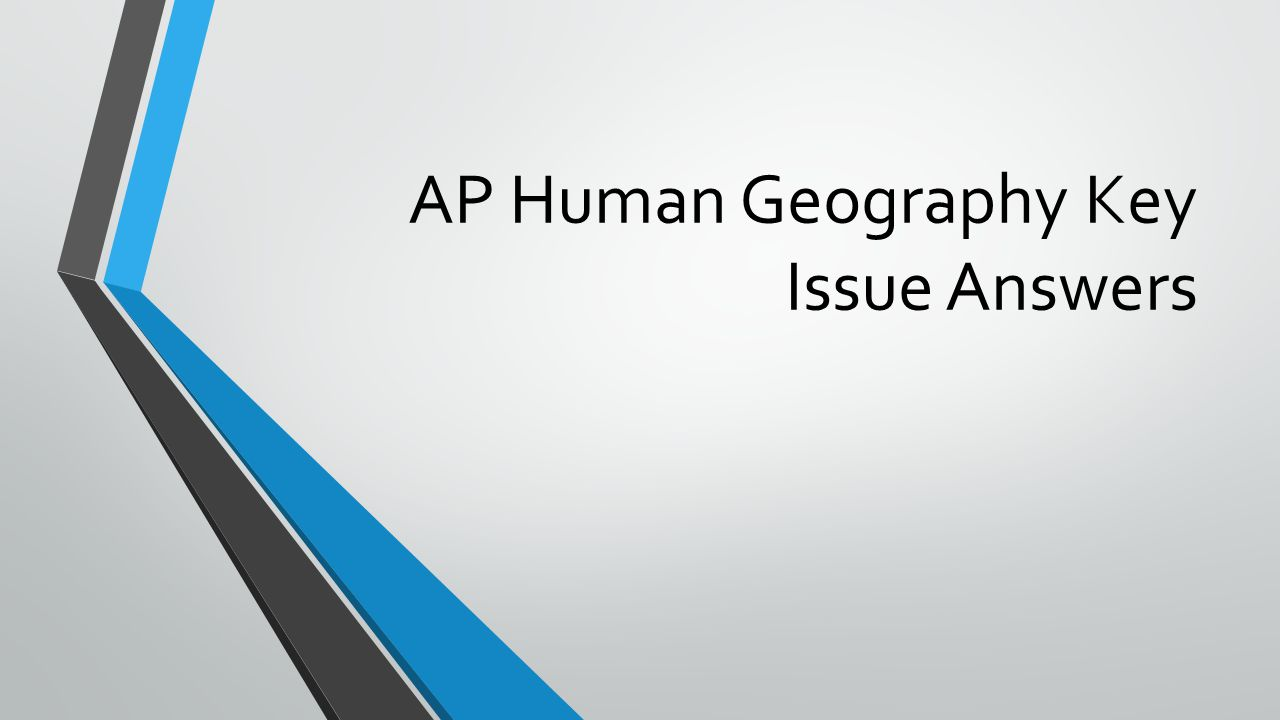 ap human geography exam essay questions Ap human geography free response questions should be approached in a very deliberate and specific way aphg teacher tom landon explains his approach to teach.