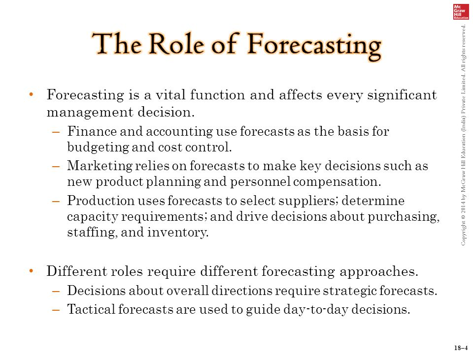 forecasting in operations management pdf