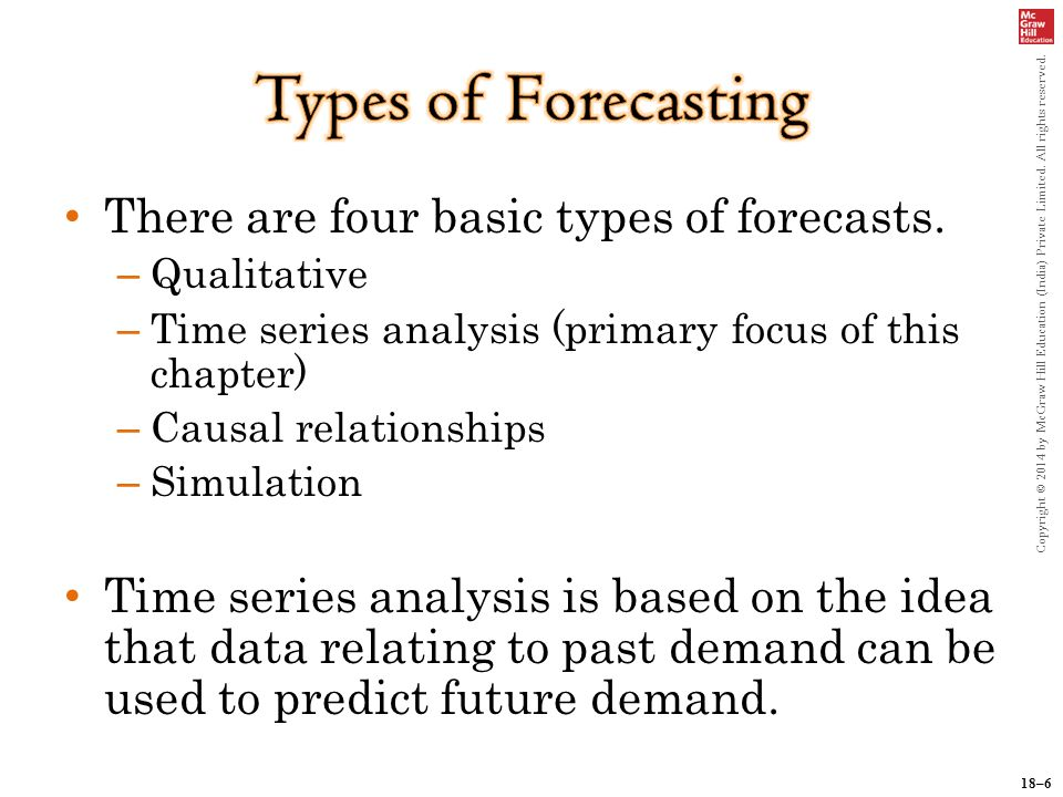 compare and contrast qualitative time series and causal analysis approaches to revenue forecasting Comparing and contrasting forecasting methods companies qualitative, time series analysis, causal comparison and contrast of forecast methods mgt 554.