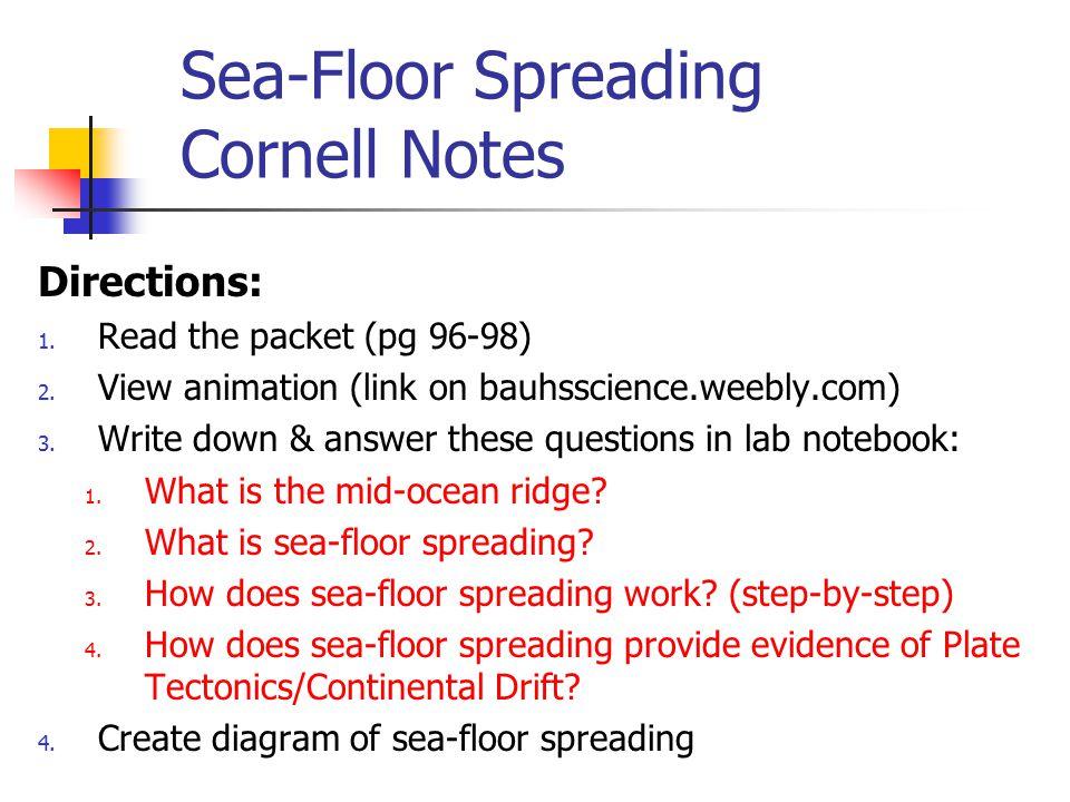 5 Sea Floor ...