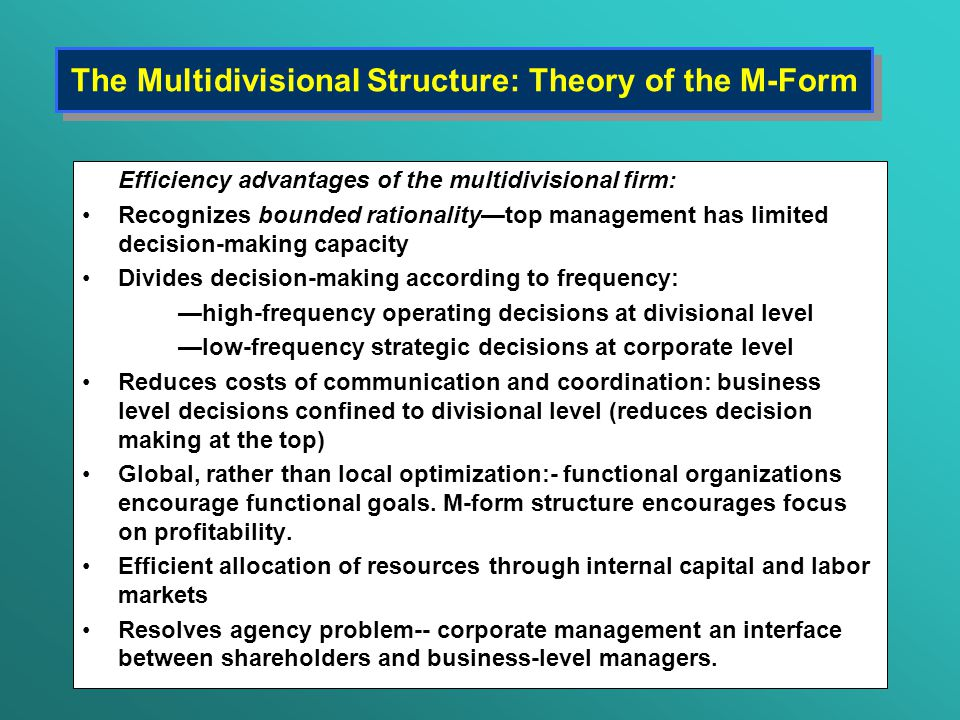 an analysis of the diversification as a form of corporate strategy Analyze business situations and create a coherent corporate strategy •  understand the fit  corporate strategy: vertical integration and diversification 0 :14  so corporate strategy is the way of company creates value.