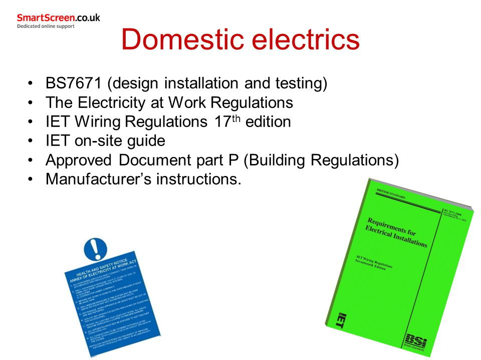 electrical supplies used in domestic plumbing services ppt video rh slideplayer com domestic wiring regulations ireland domestic wiring regulations scotland