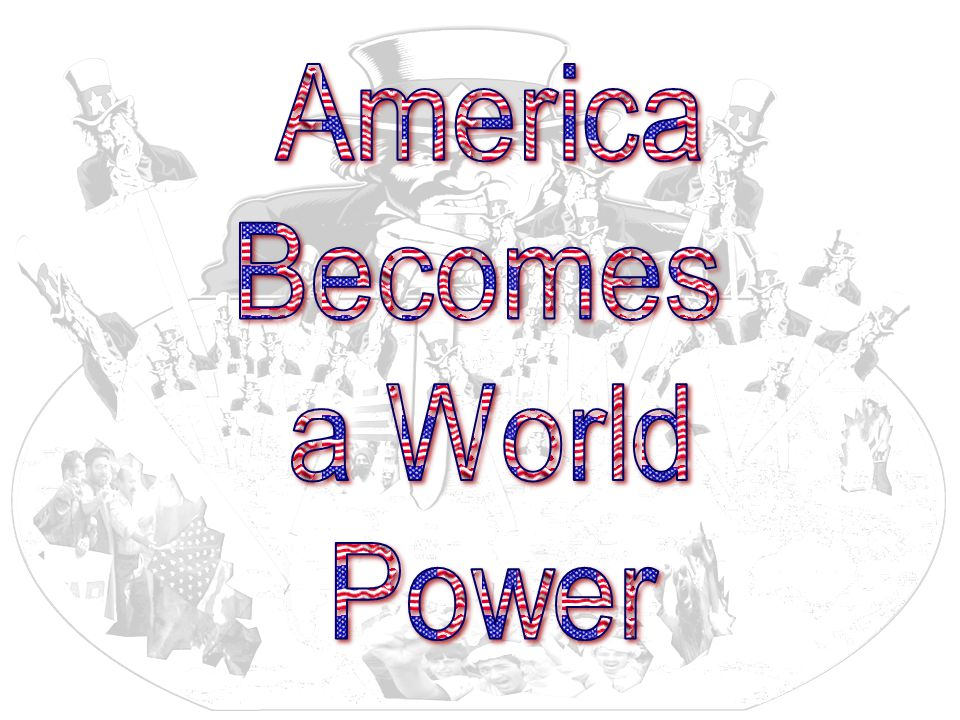 """america becomes a world power essay If the end of white america is a are going to find out, for they will spend their golden years in a third world america as """"the real america"""" becomes an."""