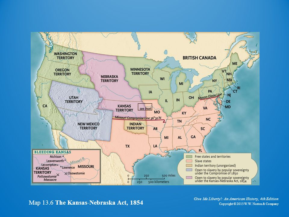 LisaNicotra The KansasNebraska Act Compromise Of 1850 History