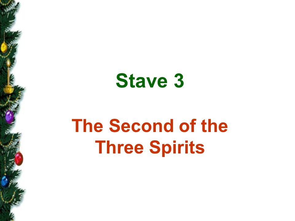 The Second of the Three Spirits