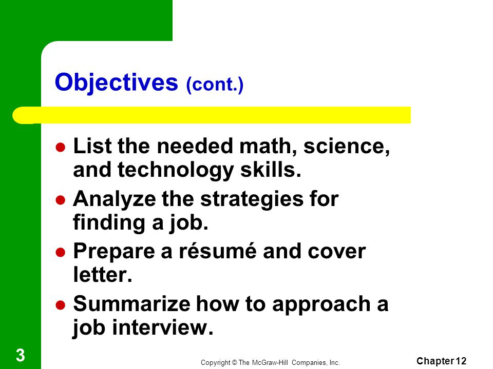 Chapter 12 Employability Skills ppt video
