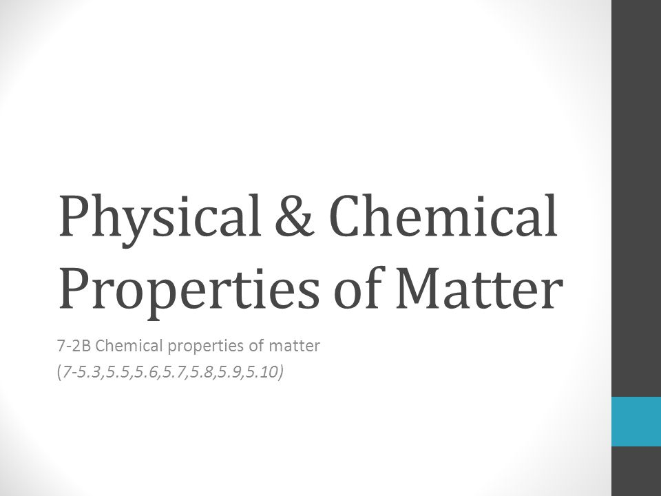physical and chemical properties lab 6 Matter homework packet name eriod physical and chemical changes and properties of matter worksheet classify the following as chemical change (cc), chemical property (cp), physical change.