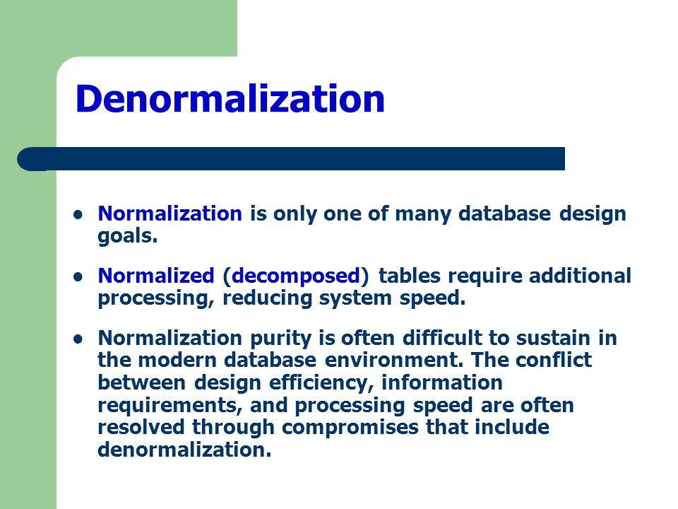 Chapter 5 normalization of database tables ppt video for Table design normalization