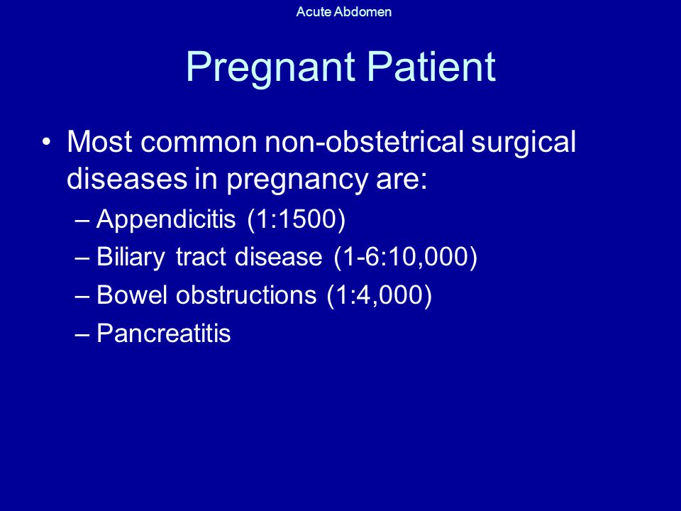 Pregnancy and biliary system