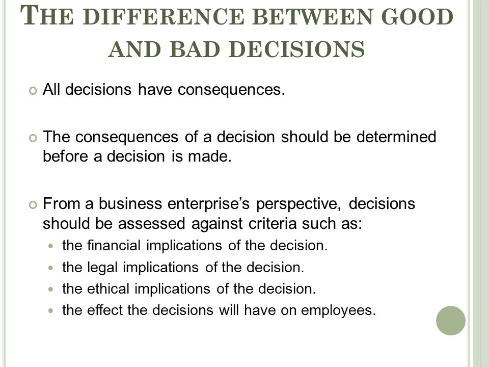 Effects of a Lack of Ethics on a Business Environment