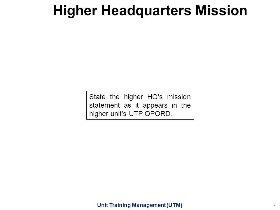 Unit training briefing template ppt download 3 higher headquarters mission toneelgroepblik Images