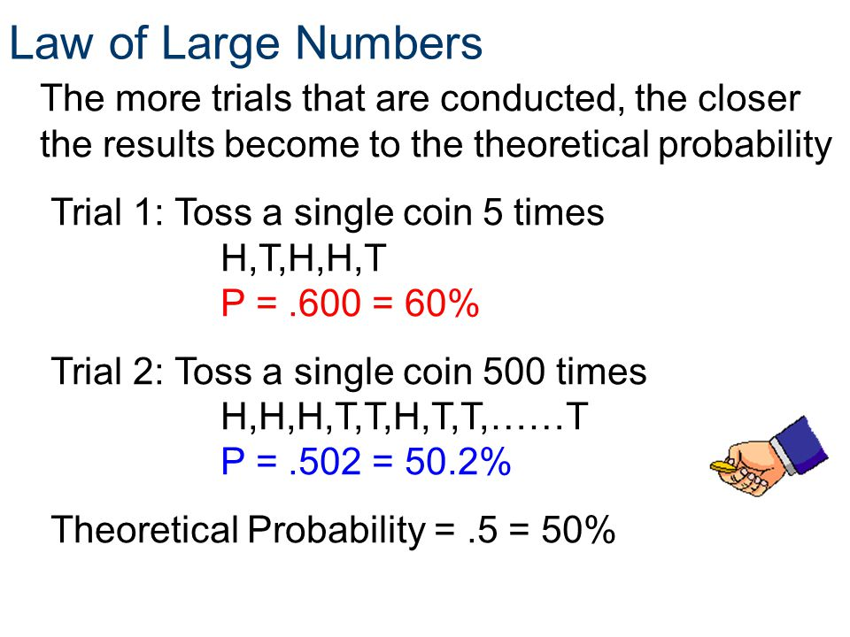 Probability Law of Large Numbers. Principles of EngineeringTM. Unit 4 – Lesson Statistics.