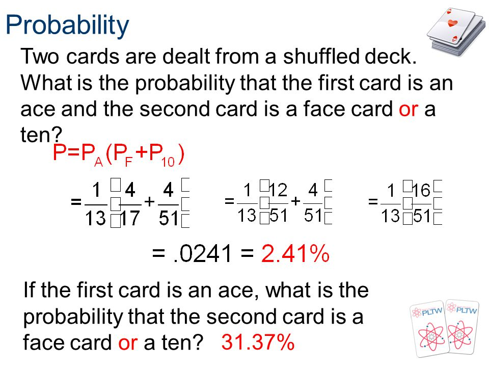 Probability Probability. Principles of EngineeringTM. Unit 4 – Lesson Statistics.