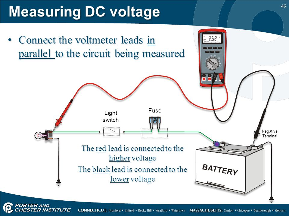 Voltmeter In Parallel : Using the eedm d dvom ppt download
