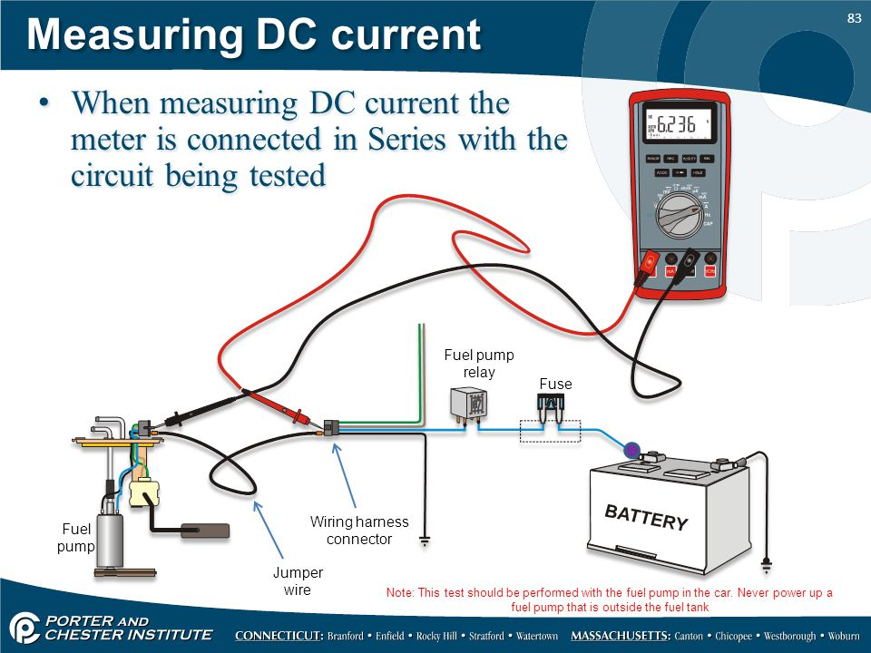 Wiring+harness+connector using the eedm504d dvom ppt download how to test wiring harness with multimeter at creativeand.co