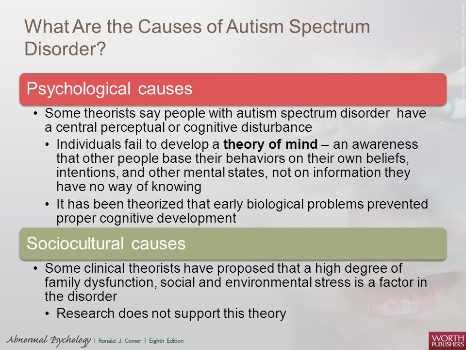 sociocultural theory of autism Understanding behavior is a national professional organization of providers that specializes in is an evidence-based practical science that can help children and adults with autism and other developmental disabilities experience more success and better manage frustrations that have.