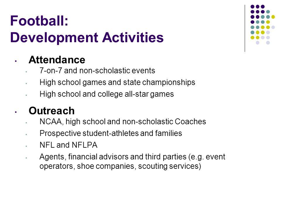 Football: Development Activities