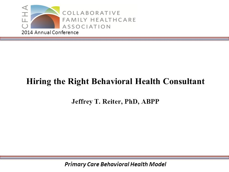 how to become a behavior consultant