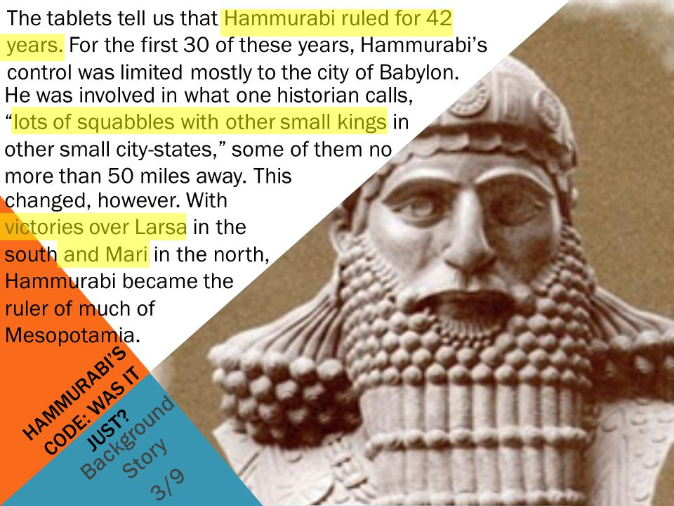 hammurabi's code justice for survival Special area the bad and the ugly  one of the best known laws in hammurabi's code is :  in this theory of justice that considers punishment, if proportionate,.