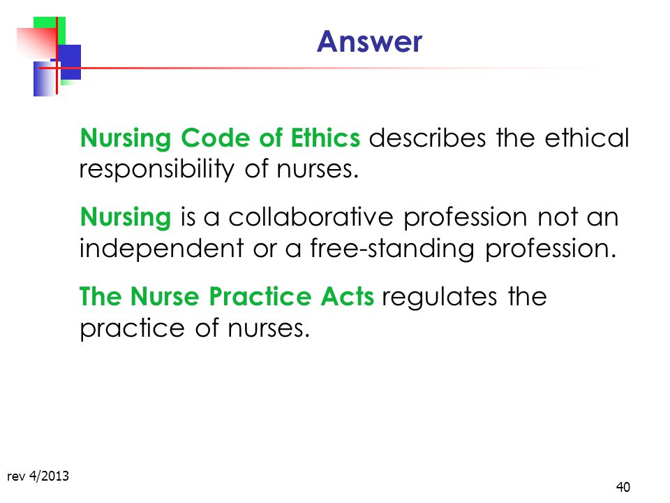 ana code of ethics summary This new guide presents a summary of each section,  according to a strong code of ethics to all in need,  nursing's social policy statement nursing.