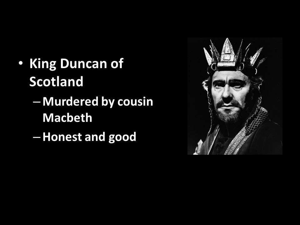King duncan good quotes