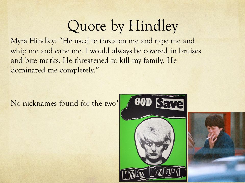 hindley and brady relationship quotes