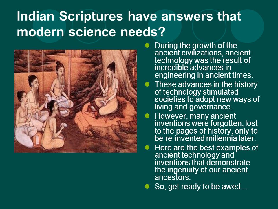 Shocking Scientific Inventions by Ancient Saints! - ppt video ...