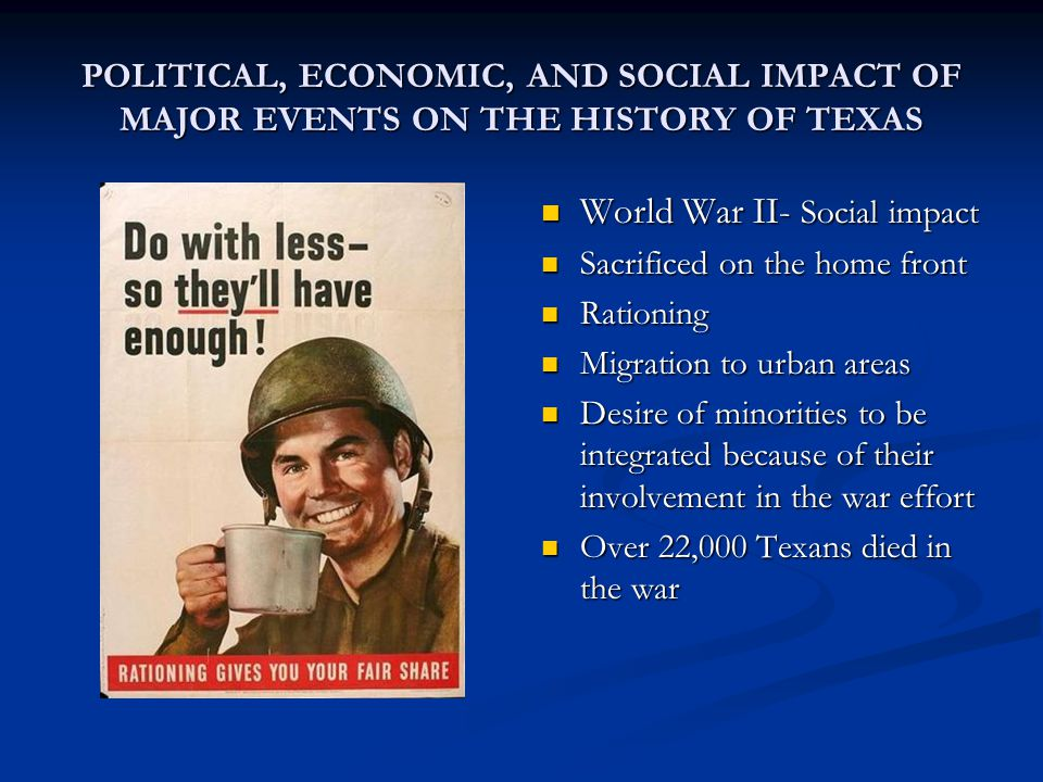 the major effects of world war ii world wide The economics of world war ii: an overview in every major respect territorial effect of change in the boundaries of control.