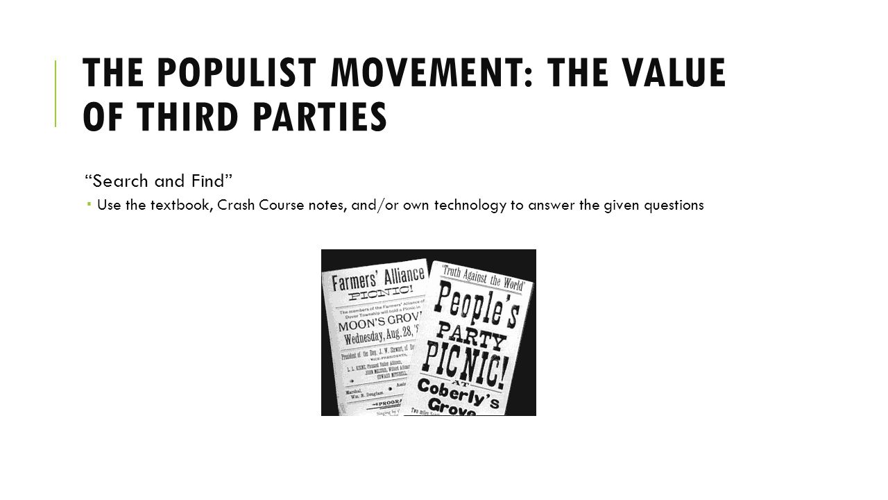 worksheet The Populist Movement The Value Of Third Parties Worksheet Answers the populist movement value of third parties quelques liens utiles