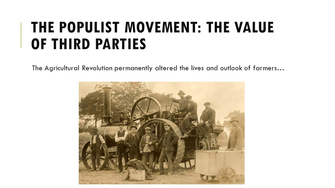 The populist movement the value of | Custom paper Academic Writing ...