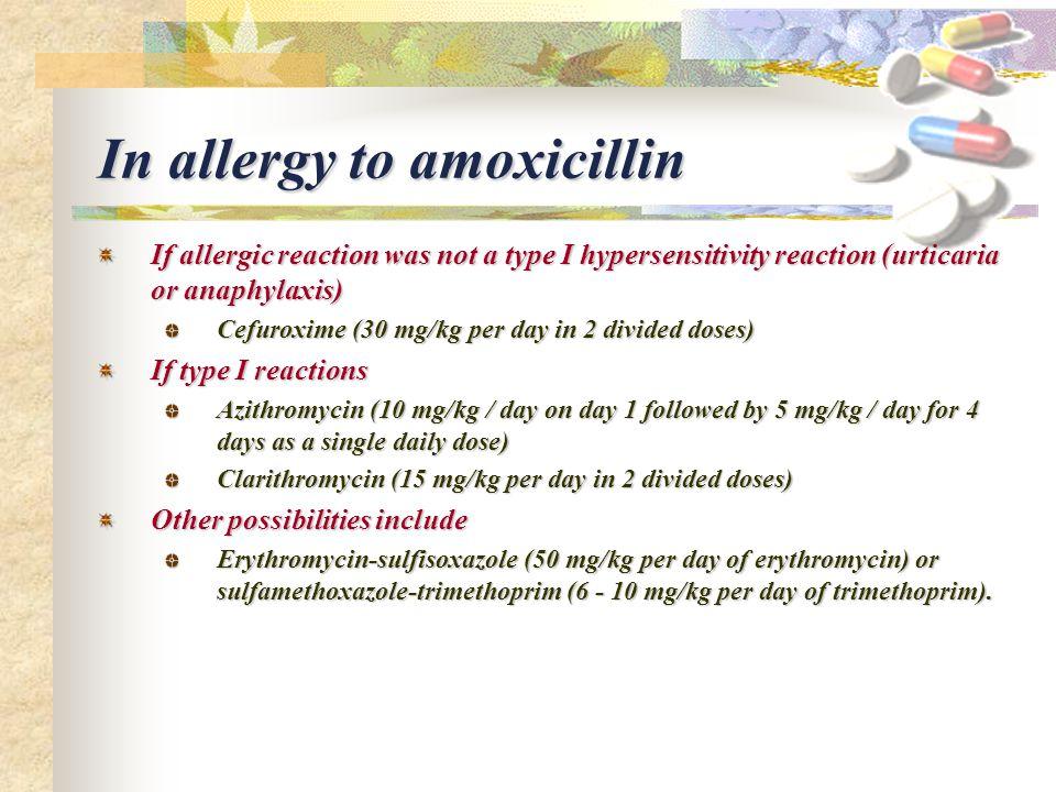 Allergic Reaction To Amoxicillin 875 Mg