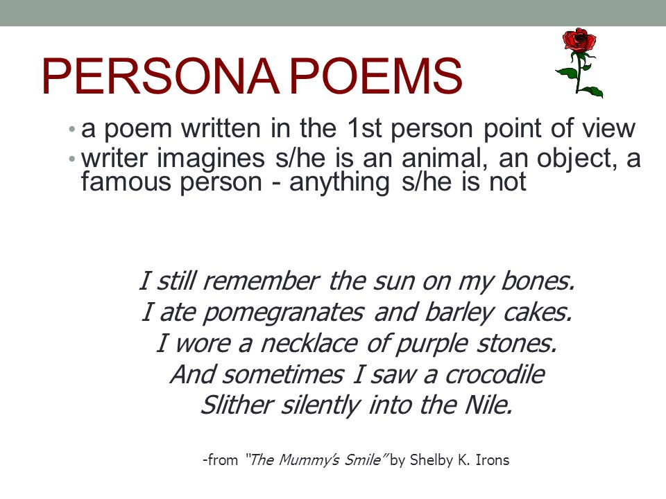 written persona example Personal essay for medical course when i was a child, my cousin, who was of the same age, died of a particularly vicious flu this case, however trivial it may.