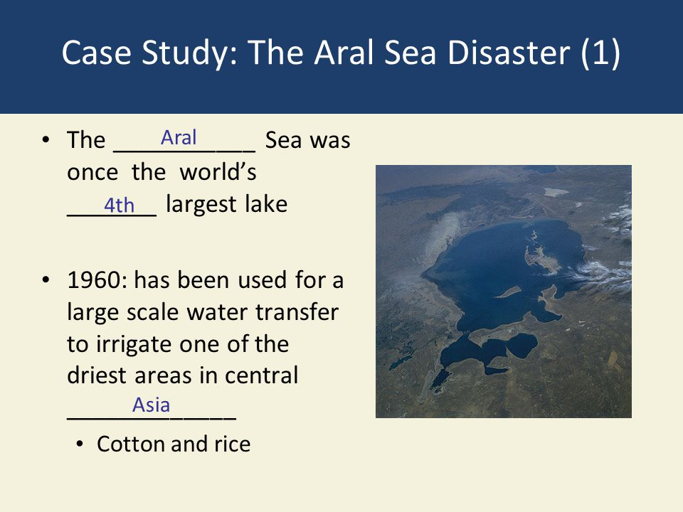 an analysis of the aral sea Many of the problems of the aral basin, however, are typical of many other arid  and semi-arid regions of the world an analysis of the aral sea ecological crisis.