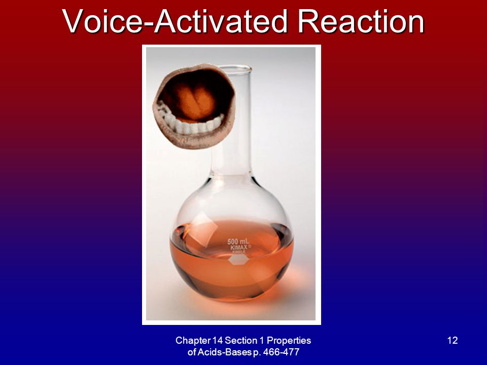 Voice-Activated Reaction