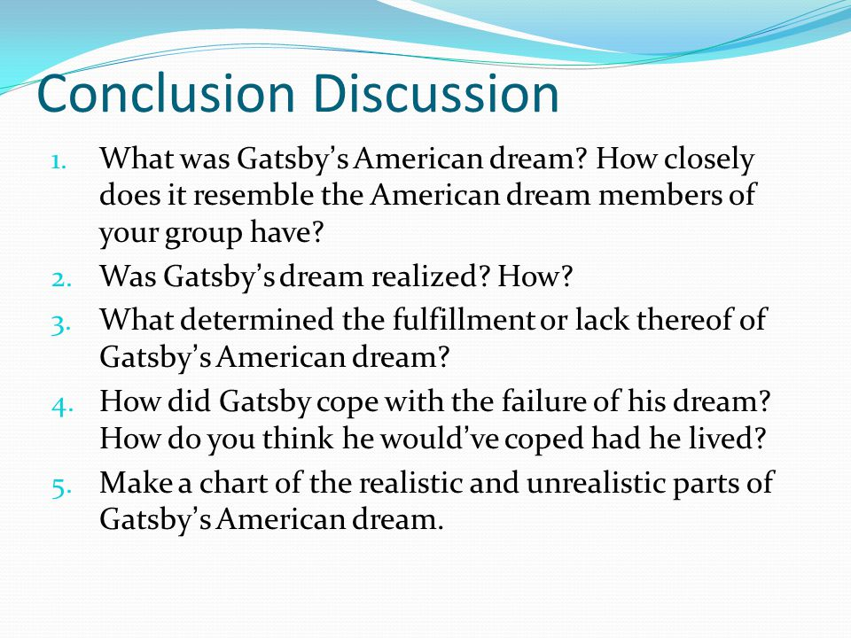 symbolism in the great gatsby essay conclusion
