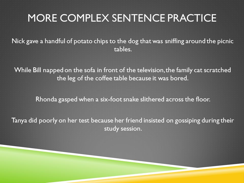 Chapter 8 sentence structure ppt video online download for Sentence of floor