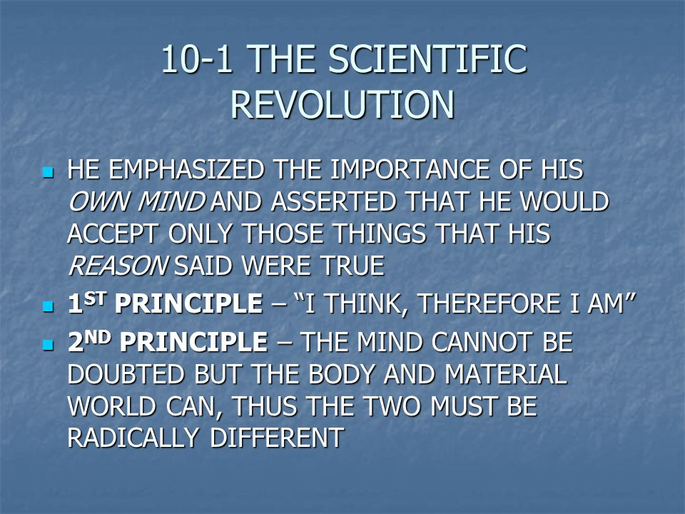 the importance of the scientific revolution Science and the enlightenment (part i) home   the renaissance and the scientific revolution  how science became important.