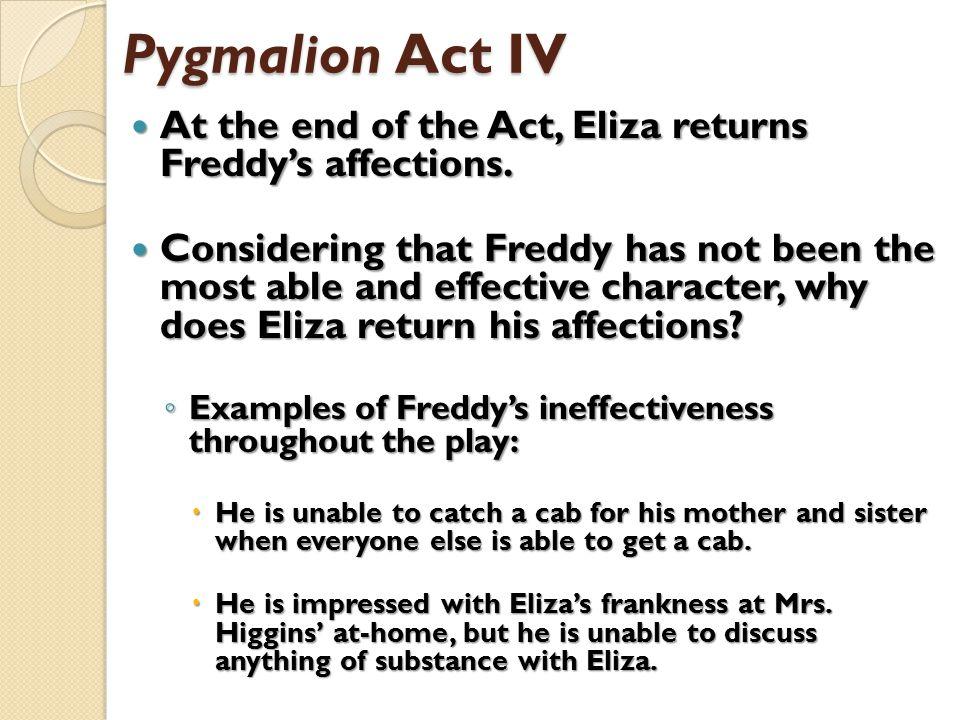 analysis of pygmalion act 1
