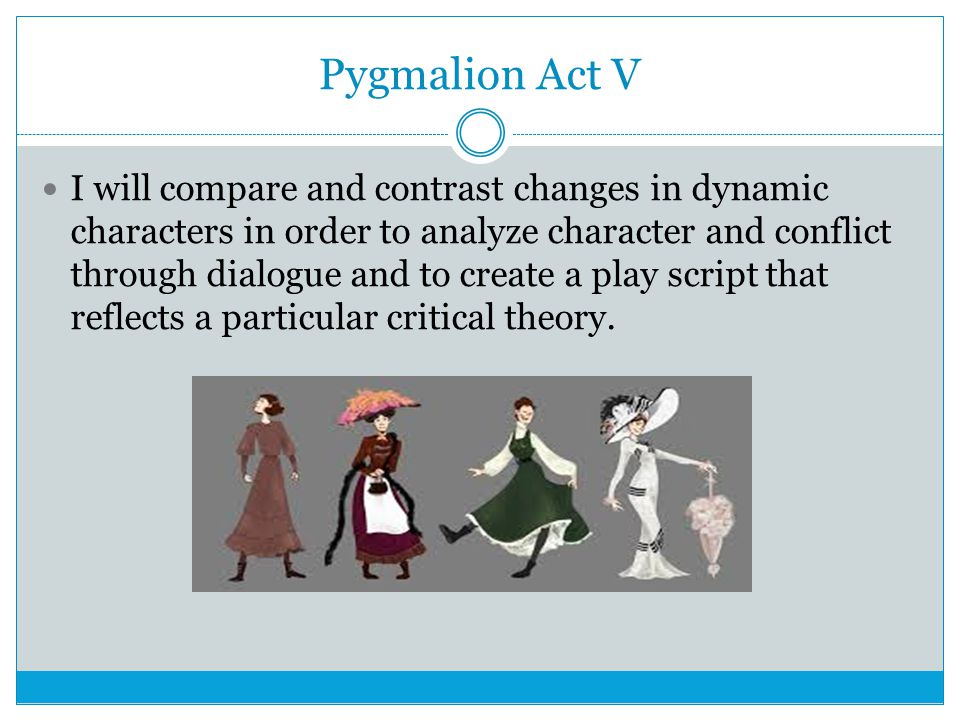 pygmalion analysis Analysis pygmalion is perhaps shaw's most famous play and, ironically, it is among his most abused and misinterpreted ones almost everyone knows the basic outlines.