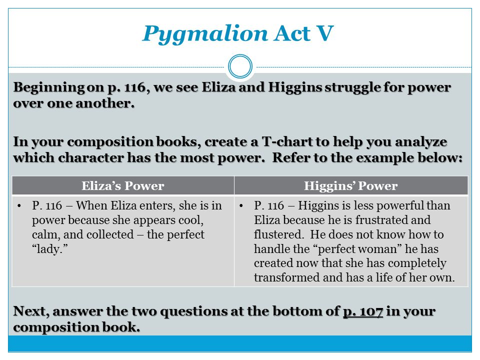 pygmalion essay topics Pygmalion george bernard shaw historical context, critical overview, criticism and critical essays, media adaptations, topics for further critical essay #1.