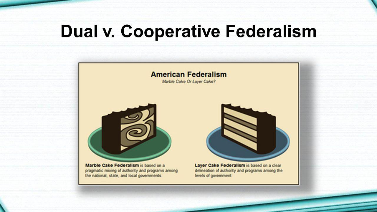 Dual v. Cooperative Federalism