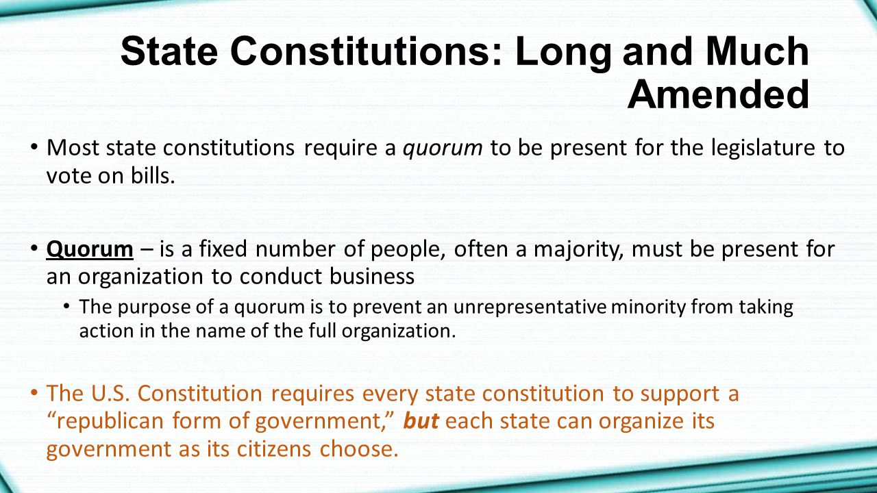 how to change state constitutions